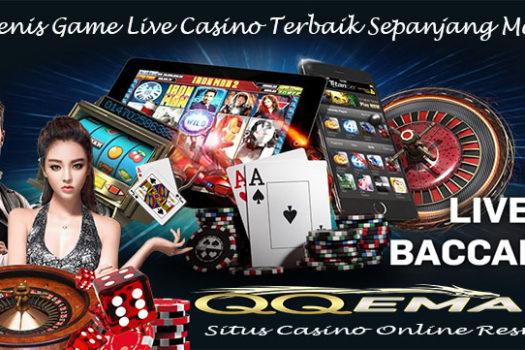 3 Jenis Game Live Casino Terbaik Sepanjang Masa